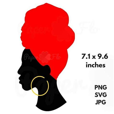 You can copy, modify, distribute and perform the work, even for commercial purposes, all. headwrap SVG Silhouette clip art black woman head wrap jpg ...
