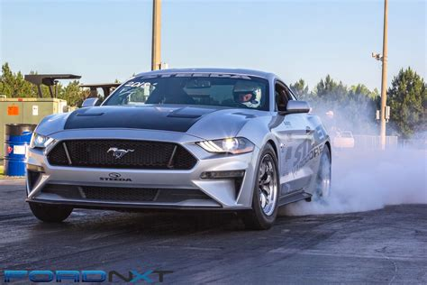 Second Mustang Keeps Running Quicker Without
