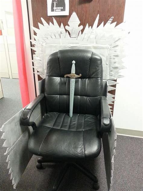 diy iron throne game thrones lannister office