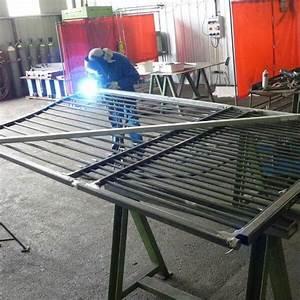 Portail Coulissant Bricoman : fabrication d un portail coulissant ef34 jornalagora ~ Dallasstarsshop.com Idées de Décoration