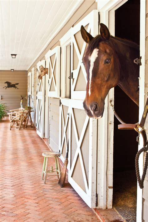 horse stable turned cottage southern living