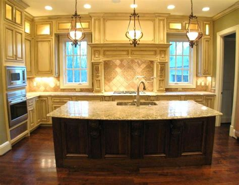 kitchens with large islands large kitchen islands island