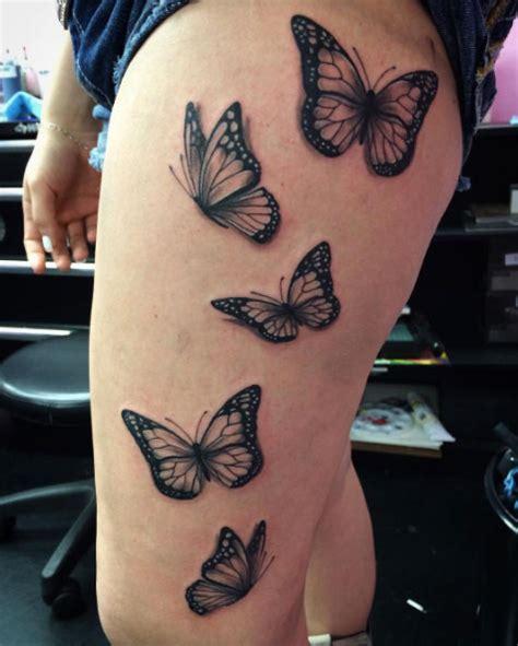 beautiful black  grey butterfly tattoos tattooblend