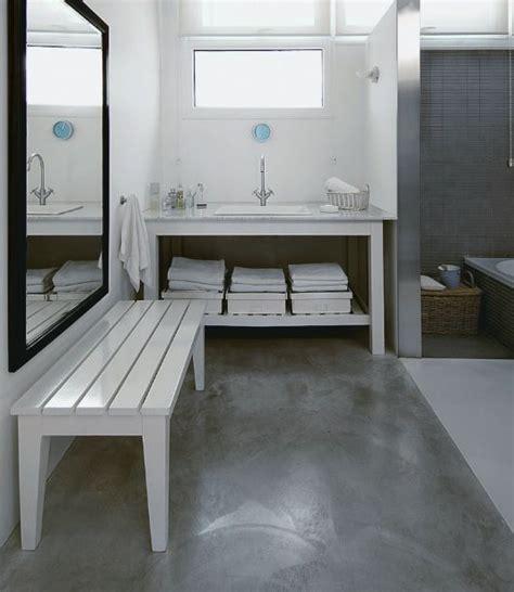Bathroom Tile Flooring Ideas For Small Bathrooms by Concrete Bathroom Floor Ideas On Small Bathroom