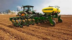 Preparing For The Planting Of Spring Crops With John Deere Planterplus
