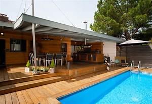 chantier en cours projets a suivre dm bois concept With dependance d une maison
