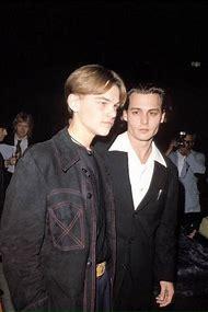 Johnny Depp and Leonardo DiCaprio Young