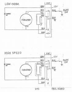 E-type  3 8 E-type Wiper Motor Internal Wiring