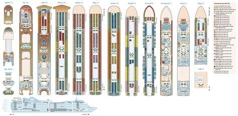 Princess Deck Plans Ships by Deck Layout Crown Princess Back To Crown Princess Images