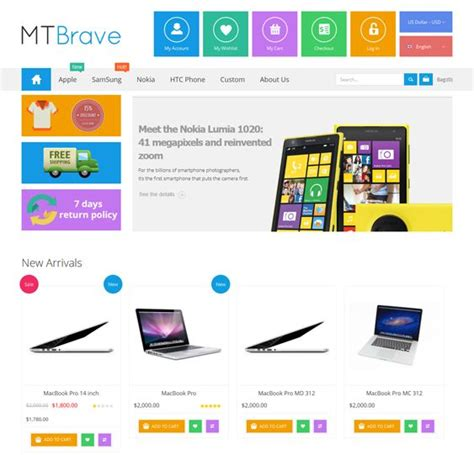 Design Template Magento Bootstrap by 17 Best Images About 22 Of The Best Free Premium
