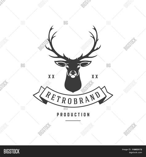 hunting club logo vector photo  trial bigstock