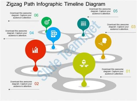 11634 career path infographic template zigzag path infographic timeline diagram flat powerpoint