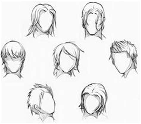 anime hair boy template anime love pinterest anime