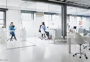 Bright, Modern, Office, Space, With, Four, Women, High-res, Stock, Photo
