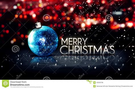 blue silver merry christmas bokeh beautiful 3d background