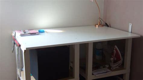ikea meubles bureau table coupe couture diy bidouilles ikea