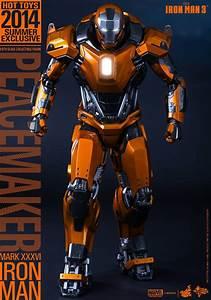 "Hot Toys Unveils Iron Man 3 Mark XXXVI ""Peacemaker"" Armor ..."