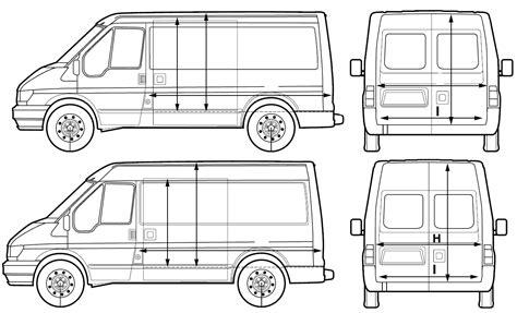 Ford Transit Diagram by Ford Transit 2005 Blueprint Free Blueprint
