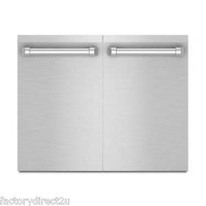 kitchenaid kbauvss   stainless steel outdoor kitchen access doors  ebay