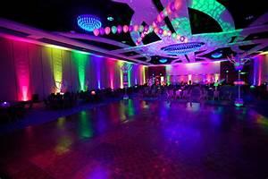 Neon Pro Dance Floor 2 Columns And Room SLM Productions