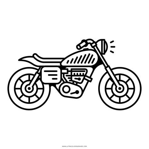 Ausmalbilder motorrad zum thema transport zum ausdrucken und ausmalen. Motorrad Ausmalbilder - Ultra Coloring Pages