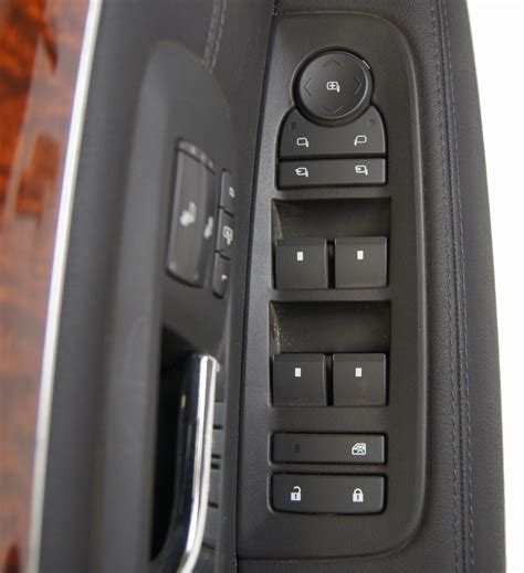 cadillac srx driver front left lh door panel