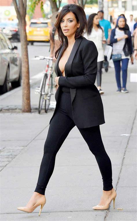 kim kardashian cleavage braless bra blazer kimkardashian boob suit major wet cm forgot kardashia shirt wearing through angle shoes crazy