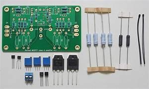 Mosfet 25w F5 Class A Amplifier W   Improved Symmetry