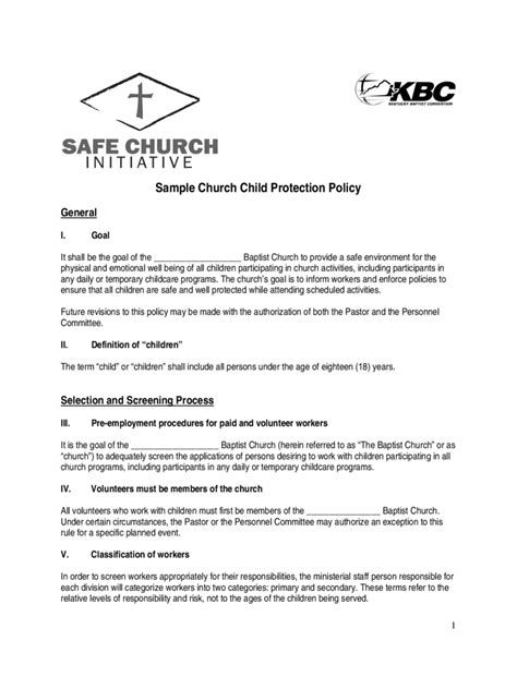 child protection policy template   templates