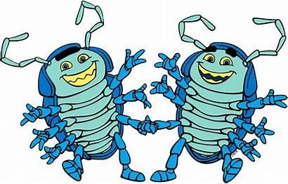Tuck Roll Bug Dim Disney Francis Gypsy
