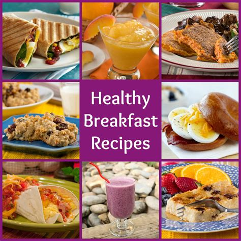 healthy breakfast recipes  start  day