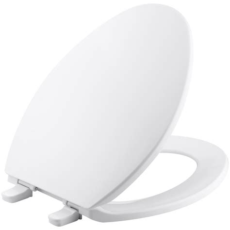 KOHLER Brevia Elongated Closed Front Toilet Seat with