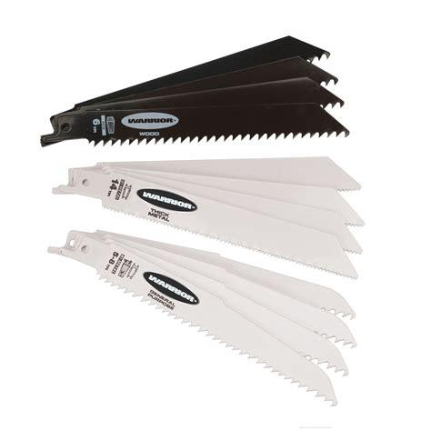 6 In General Purpose Bimetal Reciprocating Saw Blade