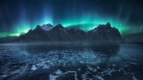Icelandic Aurora Borealis Hd Wallpaper