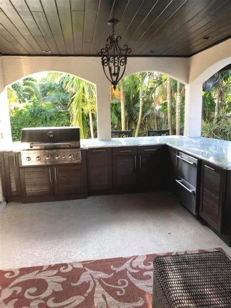 Cabinet Installer Melbourne by Outdoor Kitchen Cabinet Installation In Melbourne Fl By