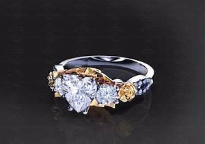 39Cherry Blossom39 175ct Gold Cardcaptor Sakura Engagement Ring