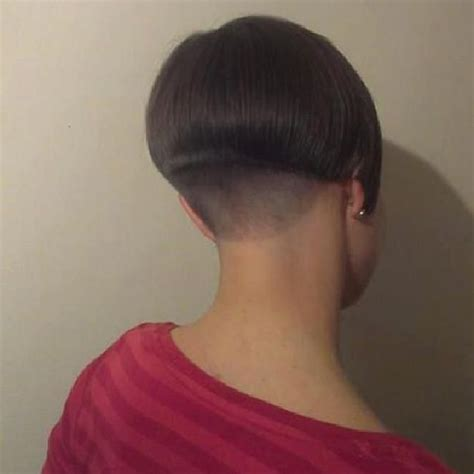 Short With Shaved Nape Bobbed Hair Short And Blunt