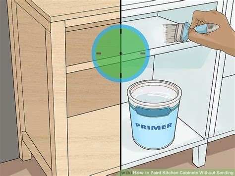 how to paint kitchen cabinets without sanding or priming how to paint kitchen cabinets without sanding with pictures