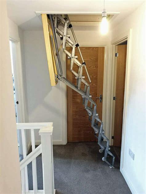 attic loft ladders for high ceilings supreme heavy duty loft ladder premier loft ladders