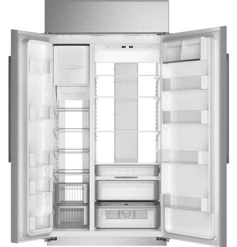 zisnnii monogram  smart built  side  side refrigerator monogram appliances