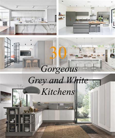 autocad kitchen design 30 نمونه دکوراسیون آشپزخانه با ترکیب رنگی خاکستری و سفید 1395