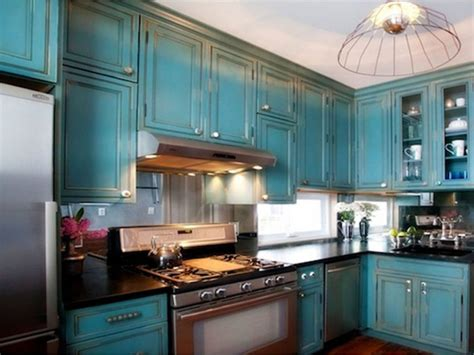 distressed blue kitchen cabinets distressed blue kitchen cabinets kitchen design ideas 6781