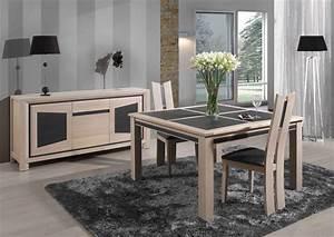 Acheter votre table rectangulaire chene massif extensible for Meuble salle À manger avec chaise moderne de salle a manger