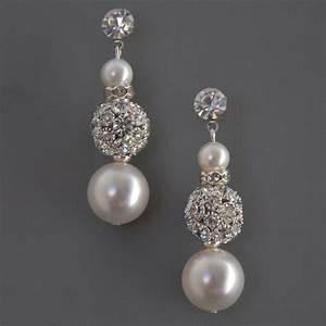 she fashion club bridal earrings etsy