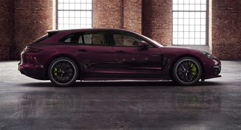The panamera turbo sport turismo we tested was groundbreaking in that it delivered porsche sports car performance in a package with room for the whole family and all of their stuff. Panamera Turbo S E-Hybrid Sport Turismo Gets Porsche Exclusive Treatment | Carscoops