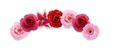 Recursos B D : Coronas de flores PNG (16)