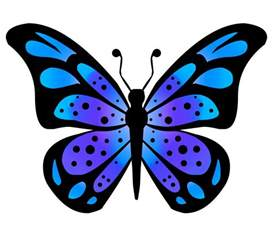 Butterfly Clip Art Drawing