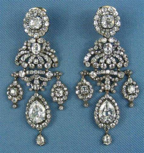 19th century russian chandelier girandole style diamond