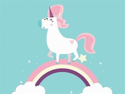 Unicorn Dribbble 2d Run Motion