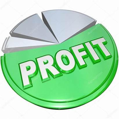 Split Profit Revenue Pie Chart Profits Vs